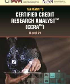 Taxmann's Certified Credit Research Analyst (CCRA) Level 2