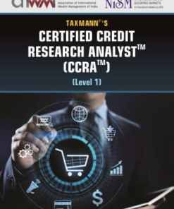 Taxmann's Certified Credit Research Analyst (CCRA) Level 1