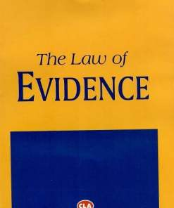 CLA's Law of Evidence by Batuk Lal - 23rd Edition 2020