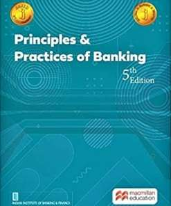 Macmillian's Principles and Practices of Banking by IIBF - 5th edition 2021