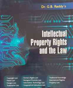 GLA's Intellectual Property Rights and the Law by Dr. G.B. Reddy Reprint Edition 2020