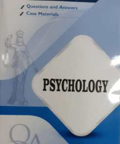 GLA's Question & Answers on Psychology by Dr. Rega Surya Rao 1st Edition 2019
