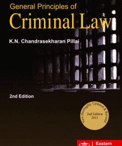 EBC's General Principles of Criminal Law by Dr. K.N. Chandrasekharan Pillai - 2nd Edition, Reprinted 2020