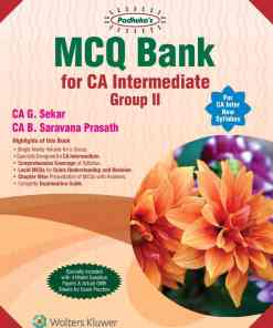 Wolters Kluwer's MCQ Bank for CA Intermediate Group II by G. Sekar for May 2020 Exam
