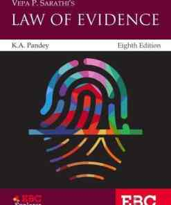 EBC's V. P. Sarathi Law of Evidence by K. A. Pandey - 8th Edition 2021
