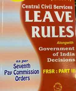 Nabhi's Compendium of Central Civil Services Leave Rules - Edition 2021