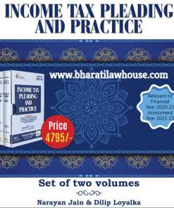 Book Corporation's Income Tax Pleadings and Practice by Narayan Jain & Dilip Loyalka - 6th Edition January 2021