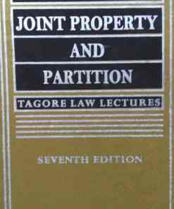 KLH's Joint Property & Partition by Mitra - 7th Edition 2019