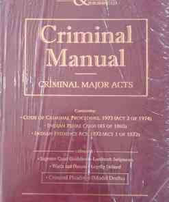 LJP's Criminal Manual - Criminal Major Acts - Edition 2021