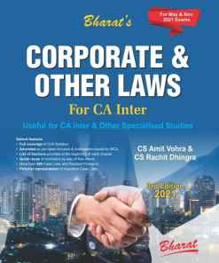 Bharat's Corporate & Other Laws by CS Amit Vohra for May 2021 Exam