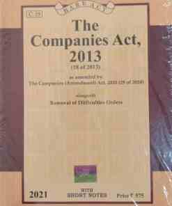 Lexis Nexis's The Companies Act, 2013 (Bare Act) - 2021 Edition