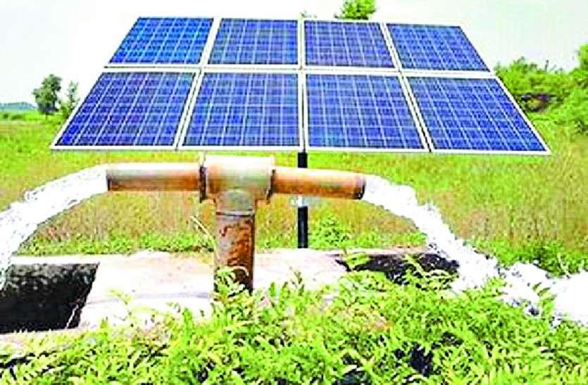 सौर सुजला योजना किसानों के लिए बन रहा वरदान