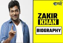 zakir khan biography in hindi