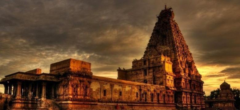 Brihadeshwara temple at Thanjavur