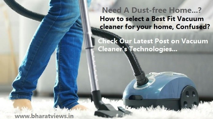 Best Vaccum cleaners in India-Buyer's guide