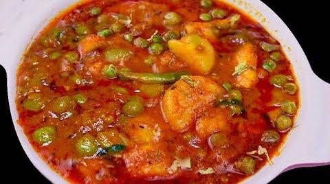 Aloo Matar Without Onion Desi Style Aloo Matar Bharatzkitchen