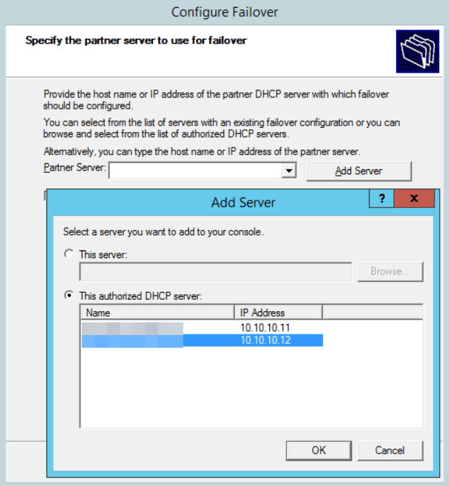 Step-by-Step Configure DHCP Failover with 2012 R2 – Part 2