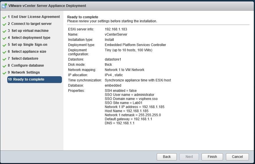Installing VMWARE vCenter Server Appliance 6 0   Bhargav's IT Playground