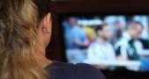 menonton tv, televisi