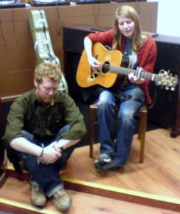 Glen Hansard and Markéta Irglová from the movie Once 2006