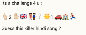 Guess this Killer Hindi Song