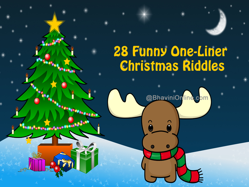 28 Funny One-Liner Christmas Riddles