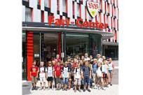 Sommerferienprogramm 2008: Besuch der Mercedes-Benz-Arena
