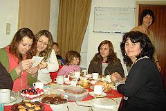 'Sprachcafe' vor Weihnachten 2007