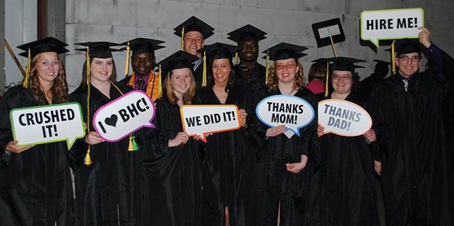 graduation qc campus