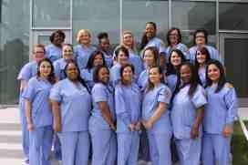 Practical Nursing graduation class