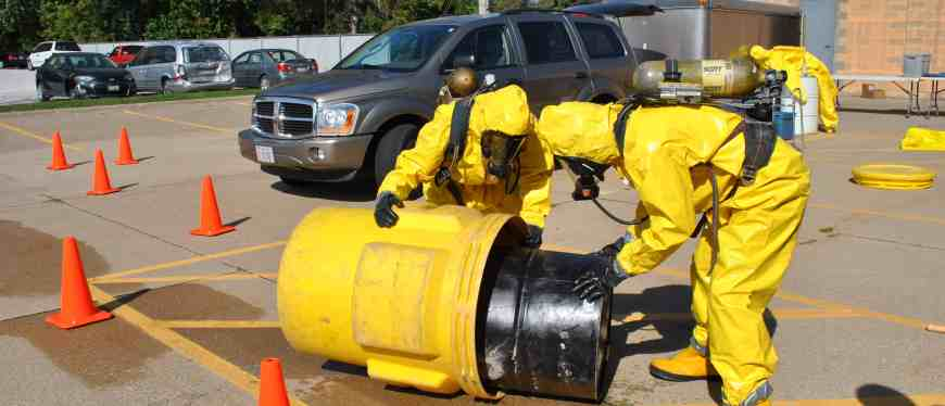 Occupational Safety and Health Administration chemical spill training