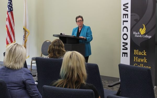 Illinois Community College Board News Conference
