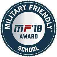 Military Friendly School 2018 logo
