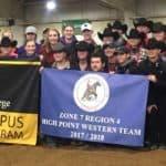 Intercollegiate Horse Shows Association Team 2018
