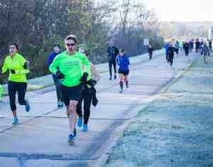 Black Hawk College 5K Hustle runners 2017