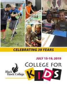 College for Kids Brochure Cover