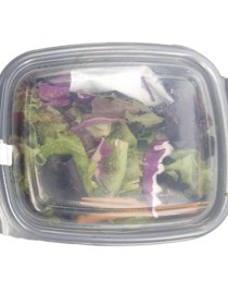 Ready to eat Salad with assorted Microgreens (1 Pkt)