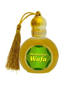 Mukhallat Wafa Attar Perfume 10ml- Fresh Spicy Notes-Concentrated Perfume Oil-Unisex Long lasting Attar Non-alcoholic