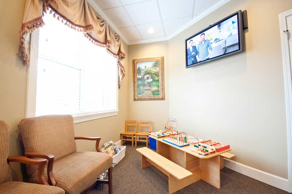 Kennesaw dental office play area
