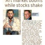 Art market booms while stocks shake