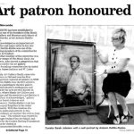 Art patron honoured