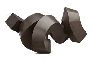 Lot 45, Clement Meadmore, Whirly Bird, 1997, est. $60,000-$80,000. This Whirl is a Pearl