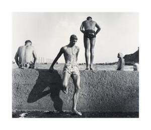 "Lot 78, Max Dupain, At Newport, 1952, printed later, est. $4,000-6,000. There's ""Sunbaker"" and there's ""At Newport"""