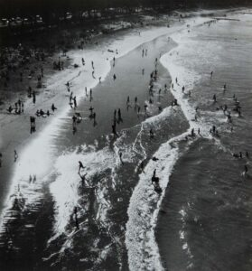 Lot 16 - Manly Beach, 1938, est. $500-800. That's My Beach