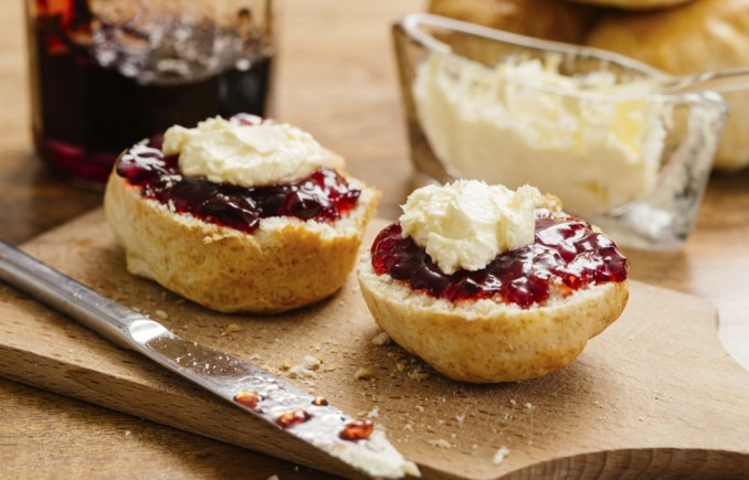 Rich scones with jam and cream Recipe   Better Homes and