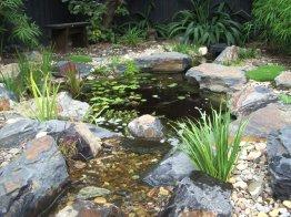 Japanese stylegarden pond