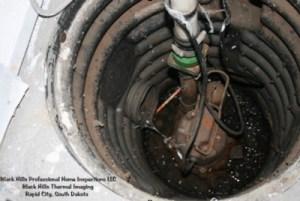 Sump Pump in Poor Condition