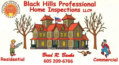 Black Hills Professional Home Inspections Rapid City South Dakota