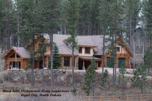 Log Homes - Rapid City Home Inspection Tips, Rapid City Home Inspections by Black Hills Professional Home Inspections, LLC