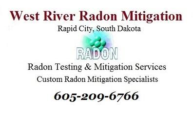 Rapid City Radon Mitigation - Radon Testing - West River Radon Mitigation - Radon Mitigation In Rapid City, SD